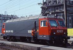 Swiss Railways, Winterthur, Electric Locomotive, 19th Century, Real Estate, Trains, Switzerland, Lucerne, Real Estates