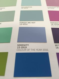 Pantone's Colour of the Year 2016 Serenity is now available for every wall in your house through the Fleetwood Prestige range! Pantone Paint, Pantone Color, Fleetwood Paint, Year 2016, Color Of The Year, The Prestige, Color Mixing, Serenity, Range