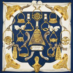Whether to wear, display or store away, the famous silk square is highly collectable, says Simon de Burton.