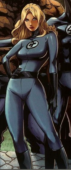 Invisible Woman from The Fantastic 4 and Marvel Comic Universe. Marvel Comics Art, Marvel Comic Universe, Marvel Heroes, Marvel Avengers, Marvel Girls, Comics Girls, Marvel Women, Superhero Family, Invisible Woman
