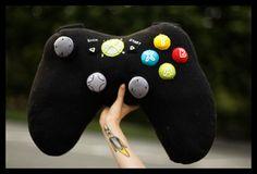 Xbox Gaming Cushion by FeltSewGoodSHOP on Etsy, £45.00