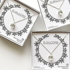 Don't forget about your #bridesmaids! Something small and sparkly for them to wear on your #weddingday is the perfect way to say #thankyou for being a friend! #bride #bridetobe #weddinginspo #weddingjewelry #bridesmaidsgifts #elsacorsi