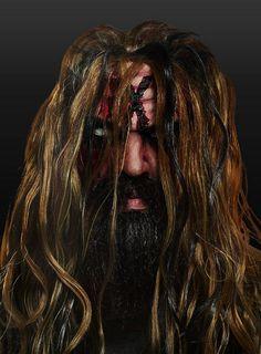 Rob Zombie Maske aus Latex