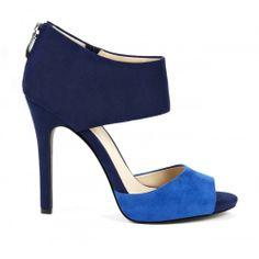 Selma colorblock sandal - Monaco Blue Sapphire