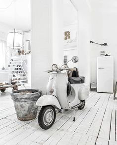 Vespa in the house