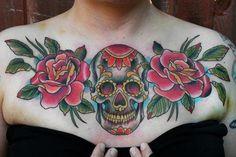 tattoo caveira mexicana