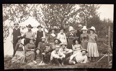 1890 Ishpeming Michigan, Charles Merryweather friends gather after his death ~Sharp by JerryBurton on Etsy