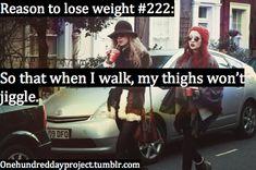 so when I walk...
