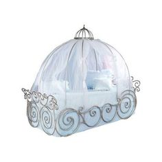 Disney Princess 4 Pc Full Carriage Bed at Rooms To Go Kids. My daughter would love this!  sc 1 st  Pinterest & Cinderella Canopy Twin Bed Frame - contemporary - kids beds ...