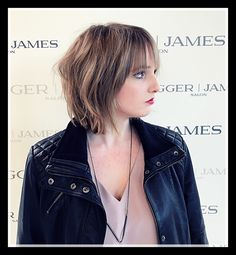 Bob or Shag? We say SEXY! 🖤 Elevate your classic shapes with an edge and versatility...   Hair: Loree Wesley for JAGGER | JAMES SALON