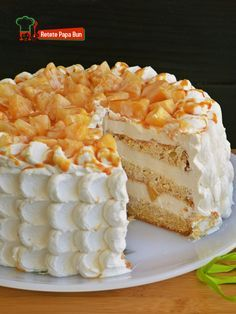 Cake Recipes, Dessert Recipes, Food Cakes, Vanilla Cake, Caramel, Deserts, Food And Drink, Ice Cream, Sweets