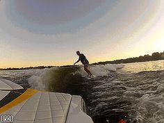 Perpetual wake surfing...