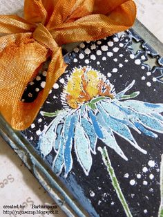 yaya scrap & more: Flower Garden Stamp set 3d Cards, Some Cards, Flower Stamp, Flower Cards, Tim Holtz Flower Garden Cards, Tim Flowers, Tim Holtz Stamps, Mixed Media Cards, Tag Design