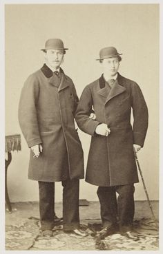 [The Prince of Wales and Prince Louis of Hesse, 11 February 1862] | Royal Collection Trust