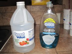 Cleaning Solution I Use For Bathrooms / Freshen Up Your Disposal