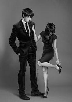 ⚡ Imagine BTS ⚡ - Imagine Jungkook - Page 2 - Wattpad Jungkook Fanart, Bts Jungkook, Fanart Bts, Anime Couples, Cute Couples, Bts Girlfriends, Foto Top, Bts Pictures, Photos