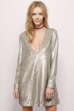 The Jetset Diaries Oasis Sequin Shift Dress