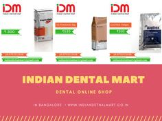 Indian Dental Mart online shop for Dental materials and products