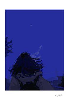 Art Anime, Anime Art Girl, Dark Anime Girl, Aesthetic Art, Aesthetic Anime, Arte 8 Bits, Japon Illustration, Scenery Wallpaper, Anime Scenery
