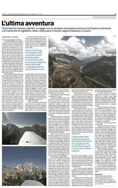 SESTA E ULTIMA: Da Locarno a Ipswich – da Besançon a Locarno. Articolo di Markus Zohner su AZIONE 33 / 2012 Locarno