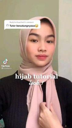 Hijab Fashion Inspiration, Style Inspiration, Simple Hijab, Hijab Style Tutorial, Mode Hijab, Hijab Outfit, Kebaya, Diy Cards, Helpful Hints