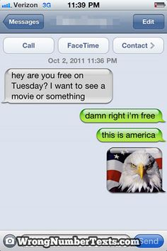 funny auto-correct texts - 15 Funniest Wrong Number Texts of 2011 I'm not sure why I couldn't stop laughing, LOL! I get so many wrong texts, I should do this to someone, lol! Funny Wrong Number Texts, Funny Texts, Funny Numbers, Halarious Texts, Cute Texts, Funny Text Fails, Funny Text Messages, Text Jokes, Memes Humor