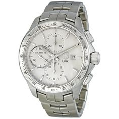 Tag Heuer Men's CAT2011.BA0952 Link Chronograph Automatic Stainless Steel Watch