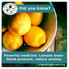 New research shows lemons are even better for your health than previously thought. Read more about their medicinal properties here: http://orgcns.org/1wnifyy