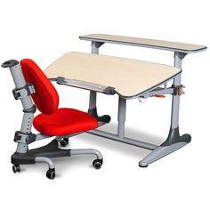 Childrens Desk & Chair Set Red