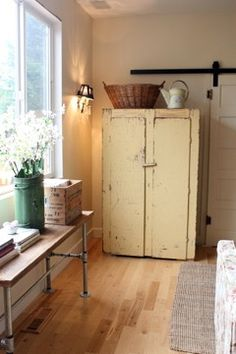 Another great old cupboard.