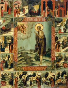Orthodoxy and the World Saint Mary of Egypt. Also my guardian angel. I was named after her. Orthodox Catholic, Orthodox Christianity, Byzantine Art, Byzantine Icons, Religious Icons, Religious Art, Religious Paintings, Religious Images, St Mary Of Egypt