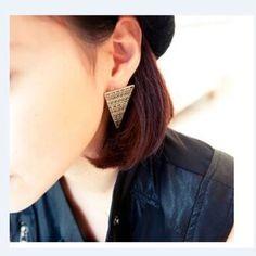 Earrings Brand new triangle earring Jewelry Earrings