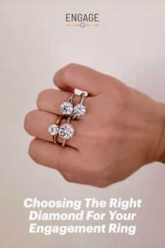 Preview our diamond resources on our App Features board on Pinterest. Then head to engagejeweler.com for more tips and guides to help you choose and customize your perfect engagement ring! Two Carat Diamond, Rough Diamond, Ideal Cut Diamond, Diamond Cuts, Perfect Engagement Ring, Diamond Engagement Rings, Light Well, Quality Diamonds, Diamond Shapes