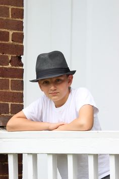 Joshua Grugin Photo Shoot With Fedora Hat