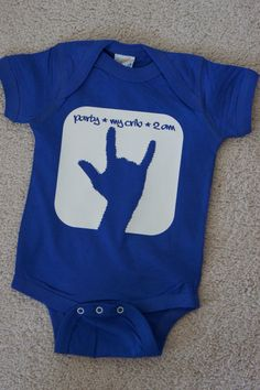 Baby Onesie  Party My Crib 2am  Rock and Roll Humurous by nlcorder, $16.99