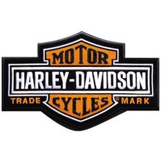 Harley-Davidson Aufn/äher Long Bar /& Shield rund