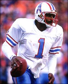 #1 Warren Moon, QB - Houston Oilers