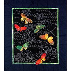 Japanese sashiko stitching...