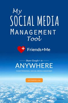 Attention bloggers!  Take the hassle out of posting to social media with Friends+Me, my favorite Social Media Management Tool {Automatic reposting from Google+ to your other social media sites!} OneCreativeMommy.com