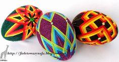 Картинки по запросу jajka temari wzory