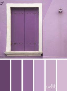 Color inspiration: Purple hues Source by Alaysukaart Source by Alaysukaart … Purple Paint Colors, Purple Color Schemes, Purple Color Palettes, Purple Palette, Pastel Colour Palette, Hue Color, Colour Pallete, Purple Hues, Deep Purple