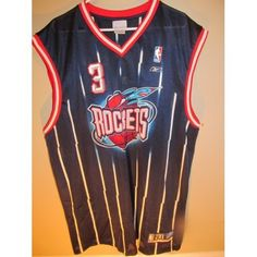 59677366d059 Reebok Steve Francis Houston Rockets jersey