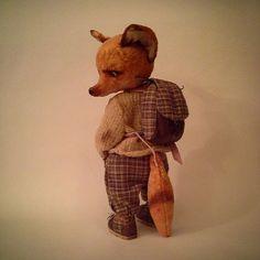 Макс обзавелся рюкзаком, собирается в дальнюю дорогу.   #лис #fox #teddy #тедди #рюкзак