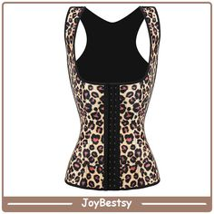 a6af24ae2b331 Womens Leopard sous buste usure Latex silhouette taille Cincher Plus Size  Workout