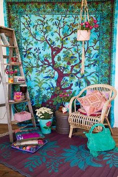 M s de 1000 ideas sobre dormitorios hippies en pinterest for Decoracion casa hippie