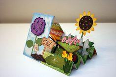step card spring garden 2