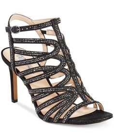 INC International Concepts Gawdie Caged Sandals, Only at Macy's - Sandals - Shoes - Macy's
