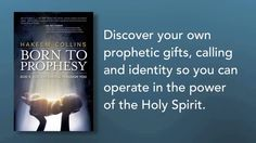 """Born to Prophesy by Hakeem Collins Order today my """"Best Selling"""" book """"Born to Prophesy"""" available now on amazon.com, christianbook.com, arsensalbooks.com, goodreads.com, barnesandnobles.com, identitynetwork.com and where fine Christian books are sold."""
