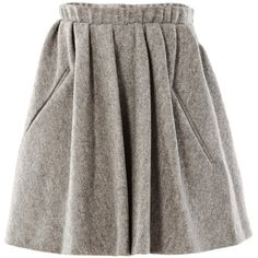 Acne skirts GREY (€370) ❤ liked on Polyvore featuring skirts, bottoms, acne, saias, grey, acne studios, grey skirt and gray skirt