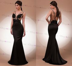 Gorgeous Tulle & Chiffon Jewel Neckline A-line Evening Dresses With Beaded Lace Appliques on Luulla